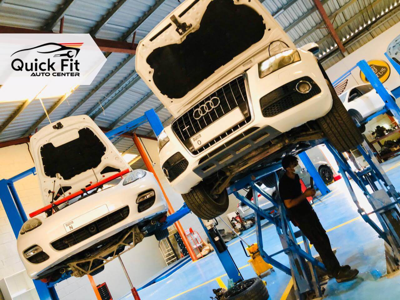 German Cars Repair After Complete Inspection in Dubai