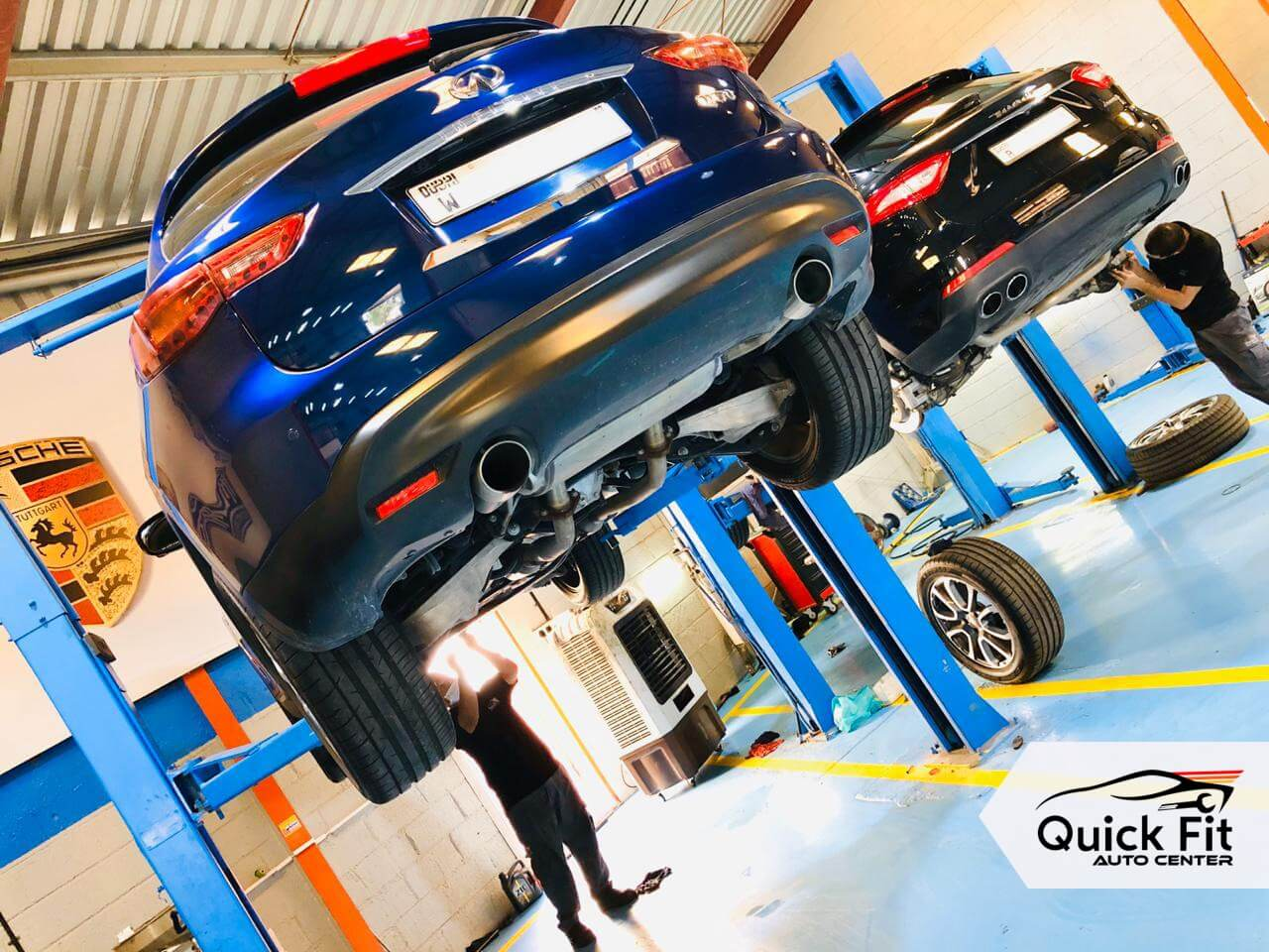 Infiniti Suspension and Steering Service at Quick Fit Auto Center