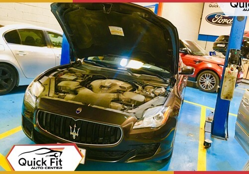 Maserati Quattroporte repair