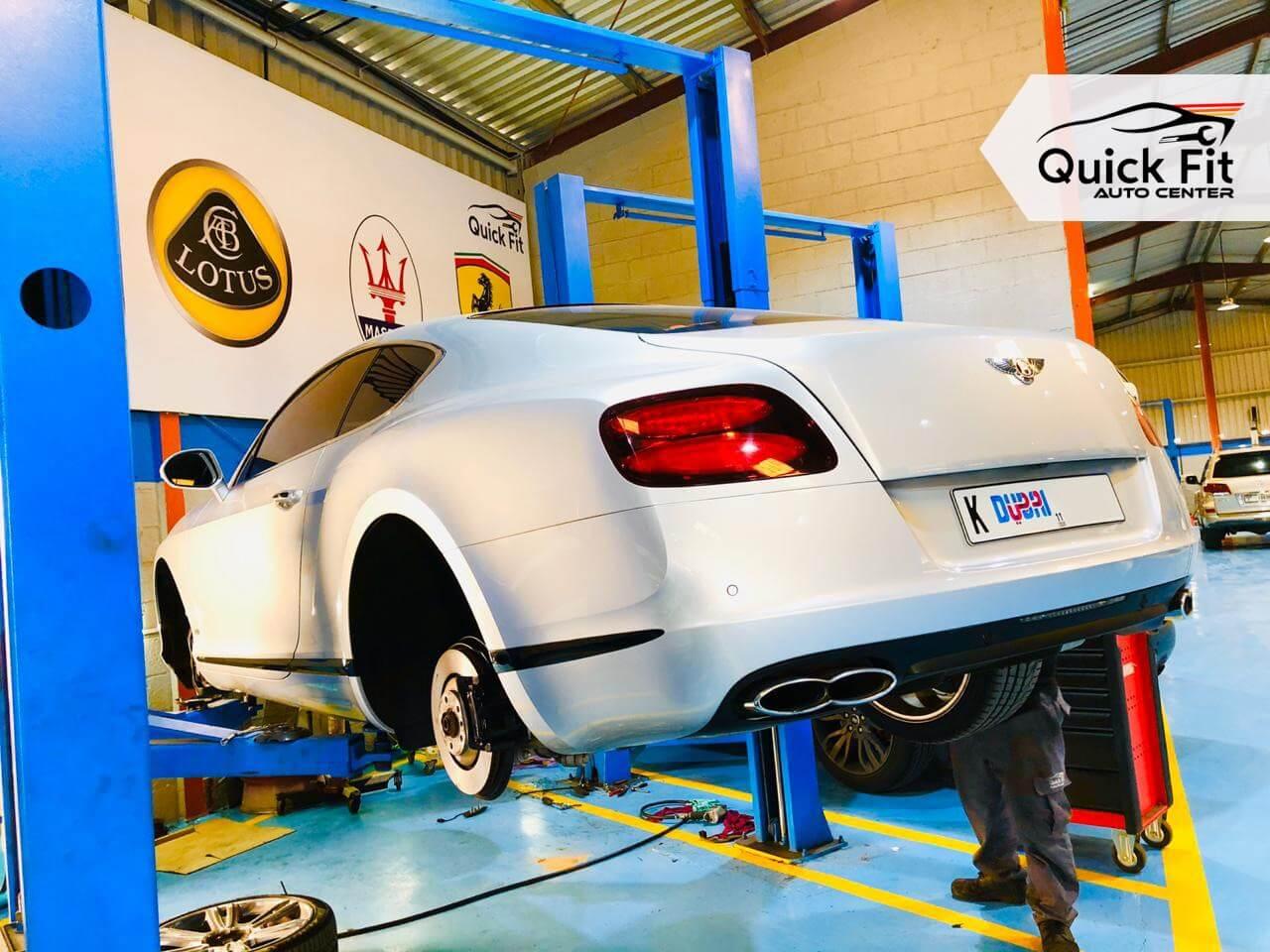 Bentley Suspension Repair Dubai