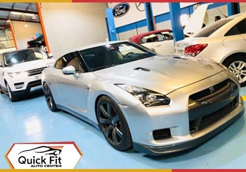 Nissan GTR Upholstry