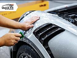 Applying Paint Protection Film
