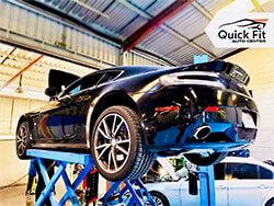 Aston Martin Vantage Visited Quick Fit Auto Center For Minor Service in Dubai