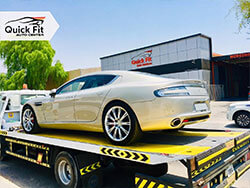 Aston Martin Rapide Picked Up, Serviced and Ready To Deliver Back!