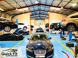 Jaguar Specialists available at Quick Fit Auto Center in Dubai
