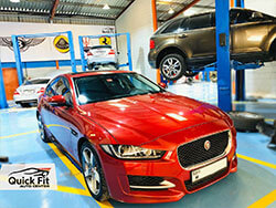 Jaguar Steering and Windscreen Repair at Quick Fit Auto Center