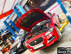 Jaguar Major Service at Quick Fit Auto Center in Dubai