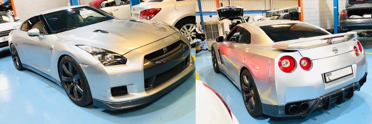 Nissan GTR Upholstry Repair Dubai