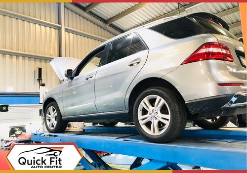 Mercedes ML 350 Major Service in Dubai