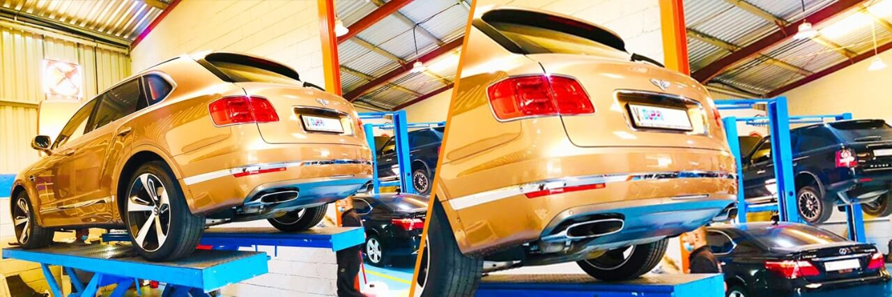 Best Bentley Bentayga Minor Service