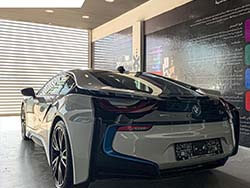 Stylish BMW I8 Paint Protection Film