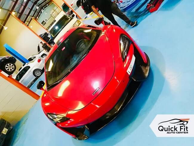 McLaren Suspension Repair Dubai