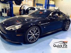 Aston Martin Major Service At Quick Fit