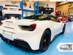 Ferrari Major Service at Quick Fit Autos