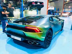 Lamborghini Major Service in Dubai