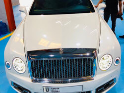 Rolls Royce Steering hard to turn Issue FIxed in Dubai
