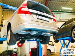 Volvo Suspension and Tyre Balancing at Quick Fit Auto Center