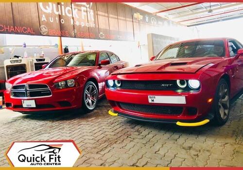 Dodge Challenger AC Service Dubai