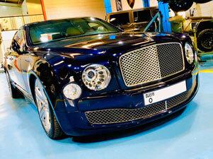 No.1 Bentley Workshop Dubai
