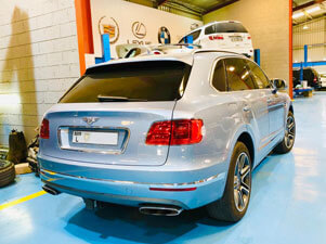 Bentley Workshop Dubai