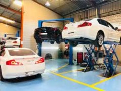 Exotic Cars Suspension Service going at Quick Fit