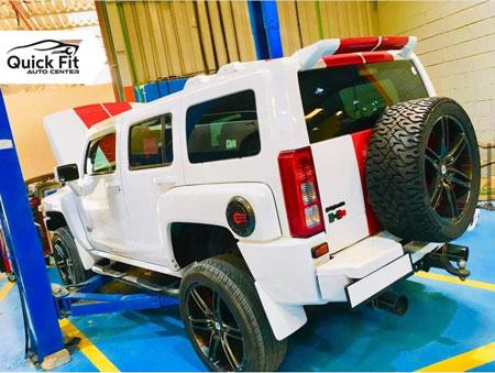 Hummer AC High Pressure Hose Leak Issue Fixed in Dubai