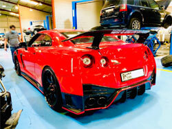 Nissan GTR Pre Purchase Inspection At Quick Fit Auto Center