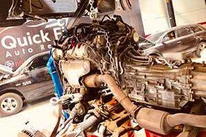 Audi Q7 Gearbox Rebuilding