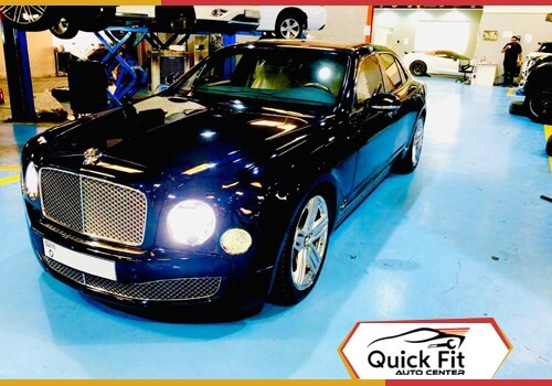 Bentley Muslanne Suspension