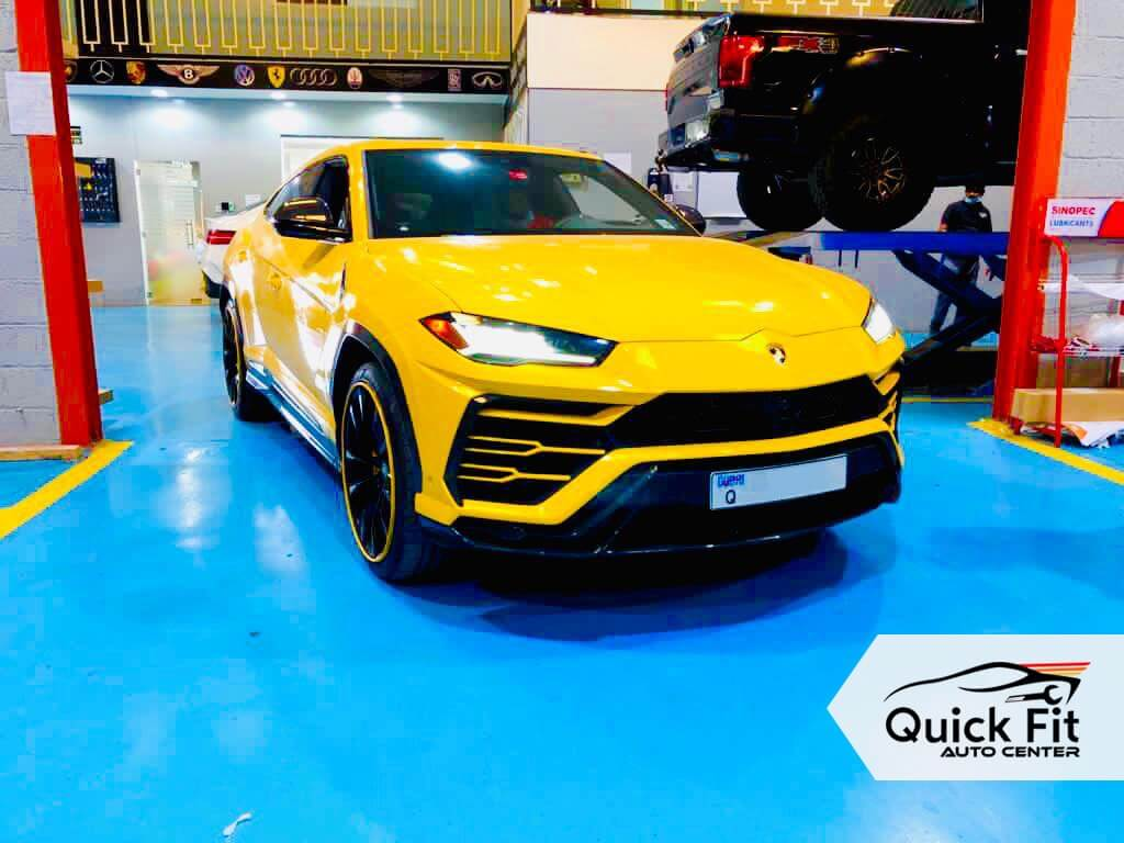 Lamborghini Urus Minor Service in Dubai