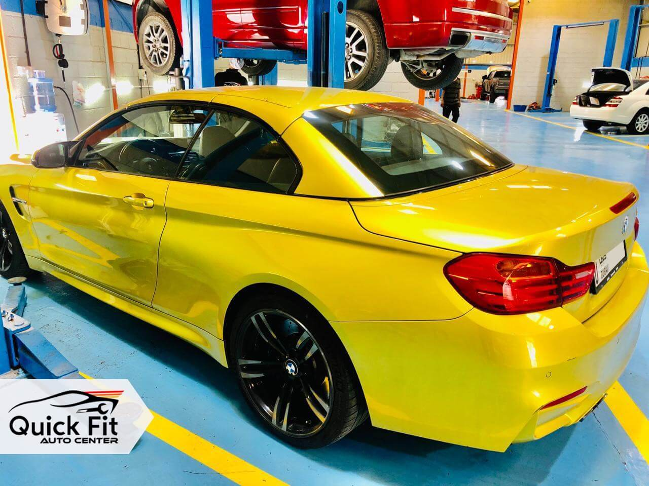 BMW For General Inspection and Electric Service in Dubai