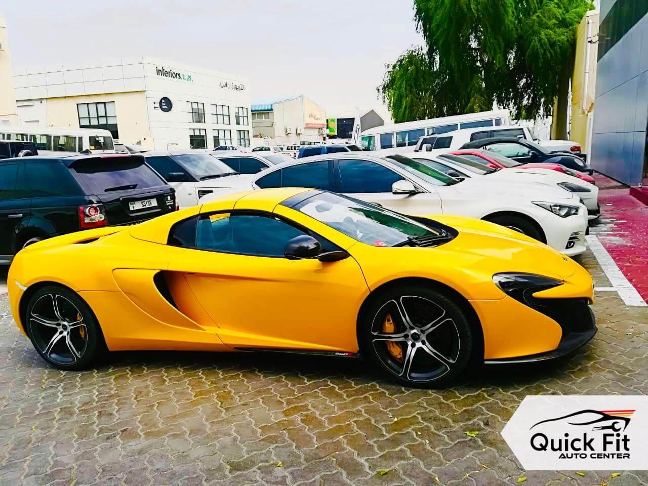 Lamborghini for AC And Brakes Service at Quick Fit Auto Center
