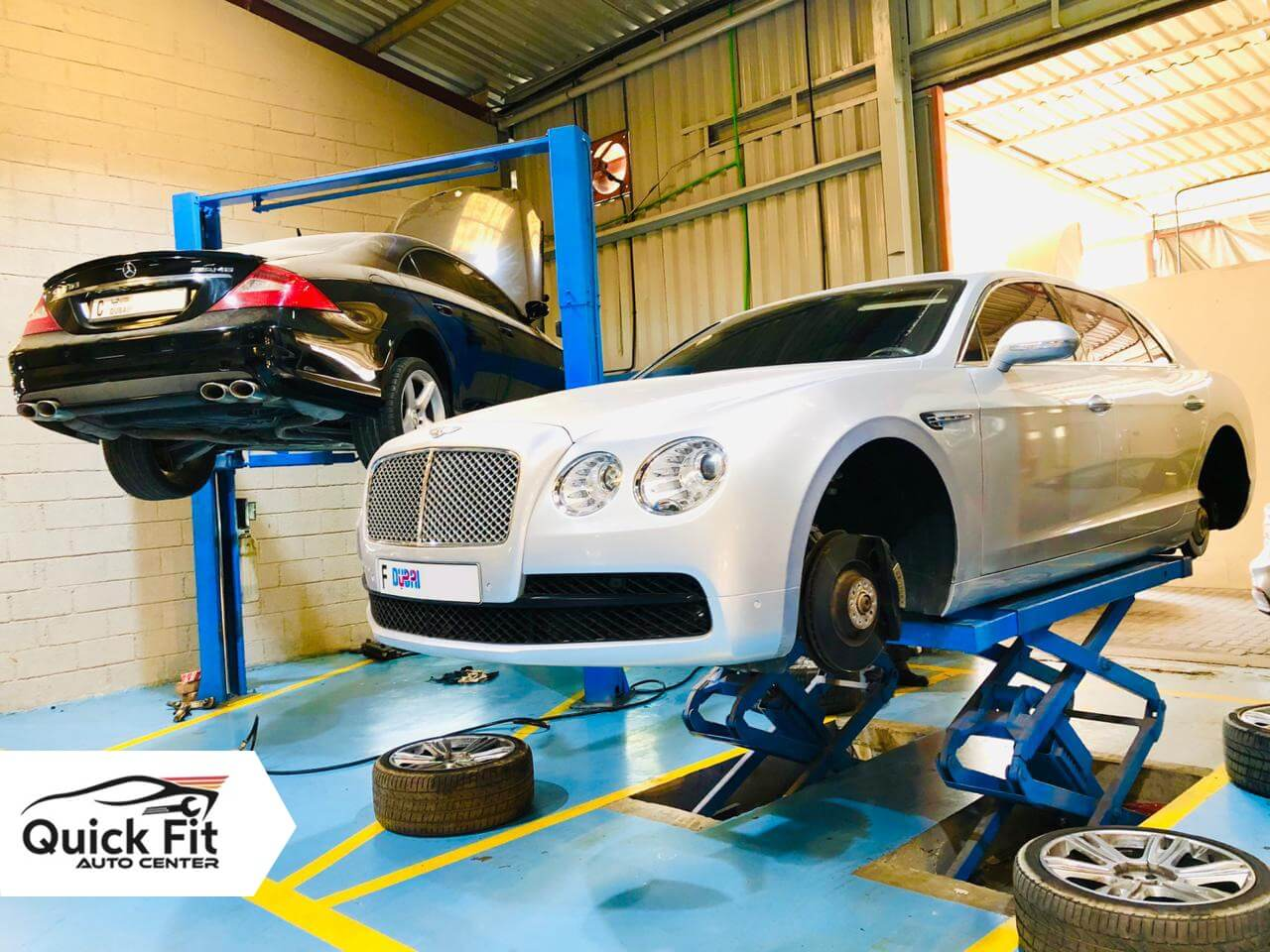 Bentley Visited for Electrical Repair Service in Dubai