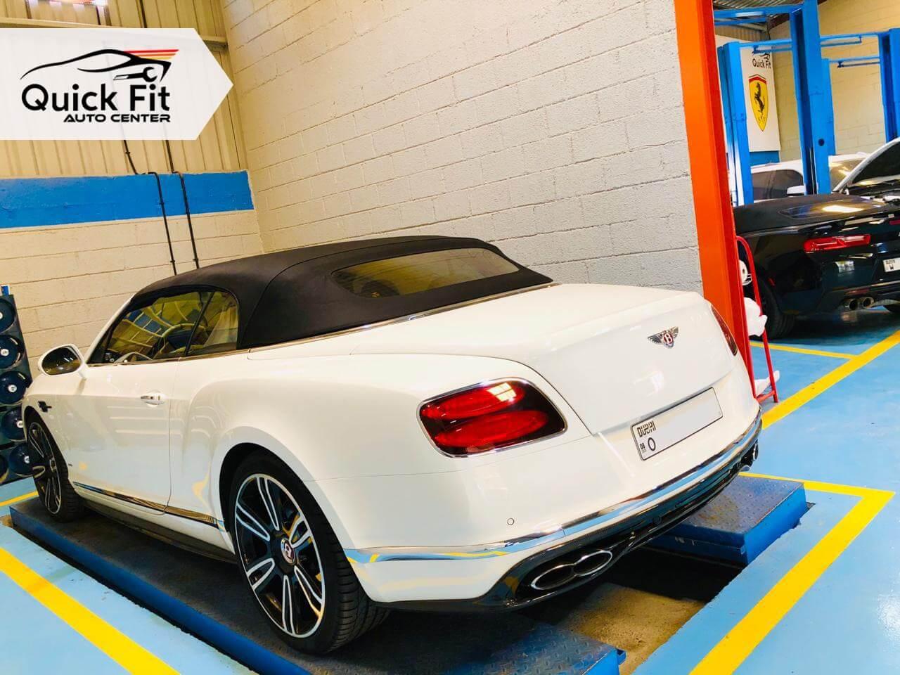 Bentley AC, Tyres and Steering Service in Dubai