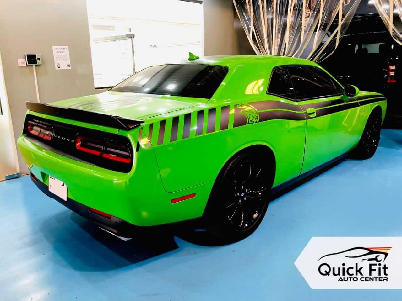 Dodge Challenger AC Gas Refilled with other Minor Service