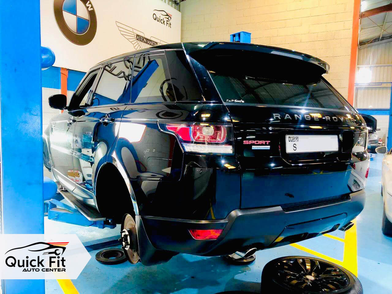 Range Rover Minor Brakes Service and At Quick Fit Auto Center