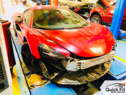 Maclaren Maintenance And Body Work At Quick Fit Auto Center Dubai