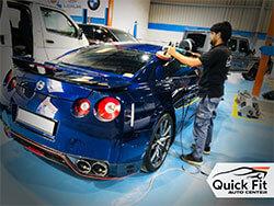 Nissan GTR Custom Painted, Interior Restoration, Detailing