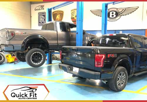 Ford F150 Major Service Feature