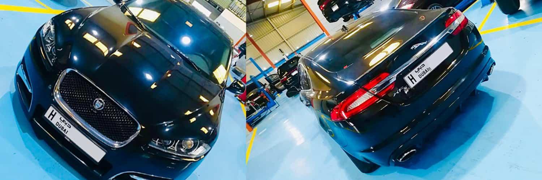 Jaguar XFS Major Service Dubai Banner