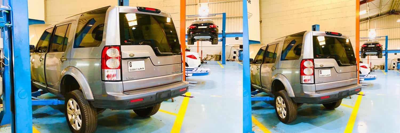 Land Rover LR4 Water Leakage Repair Banner