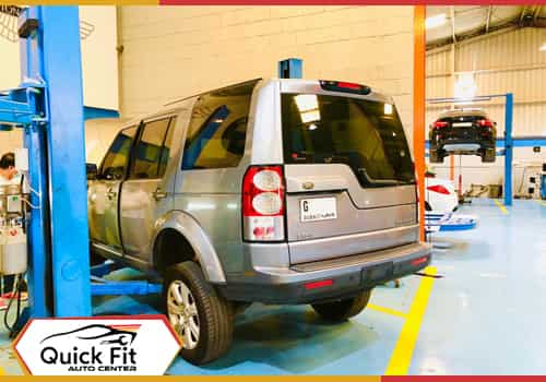 Land Rover LR4 Water Leakage Repair feature