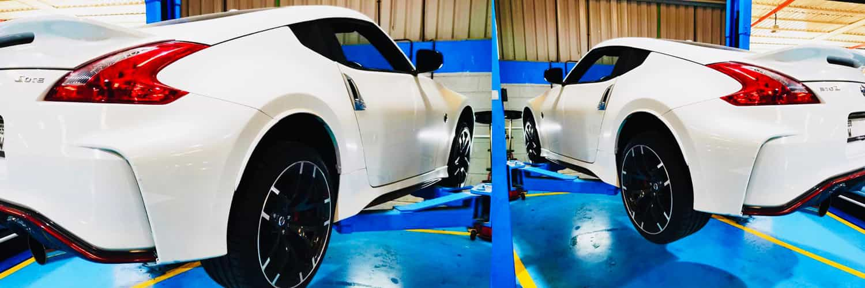 Nissan 370z Body paint banner