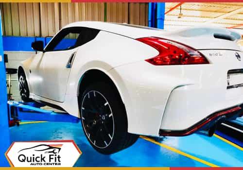 Nissan 370z Body paint feature