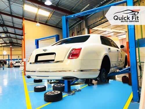 Bentley Major Service Dubai