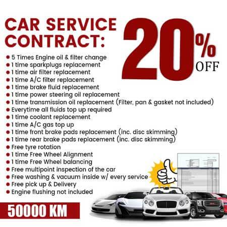 Car Service Contract Dubai
