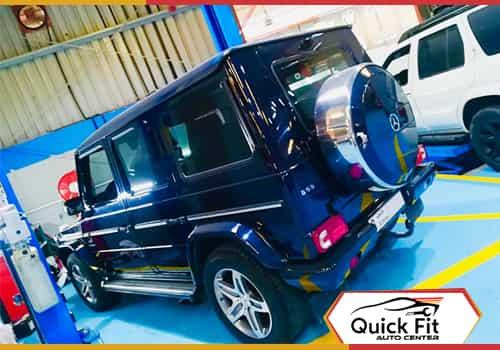 Mercedes G 55 Minor Service Feature