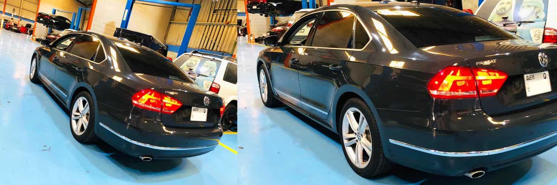 Volkswagen Passet Engine Oil Change Service Banner