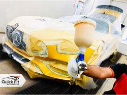 Mercedes-Benz AMG Painting Service Dubai