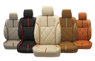 Leather seats, Fabric Conversion, and all other car upholstery Service for American, German, Exotic, and all Luxury cars at Quick Fit Dubai